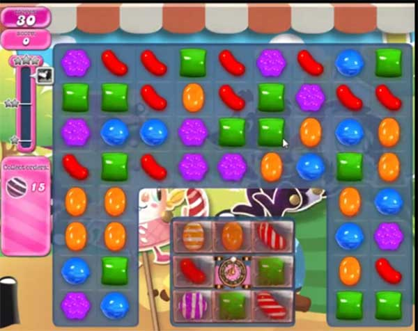 candy crush level 1357