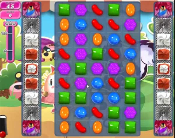 candy crush level 1364