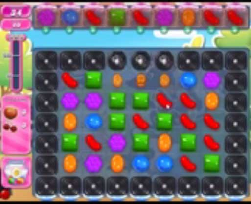 candy crush level 1366