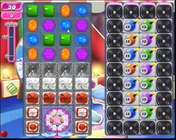 candy crush level 1384