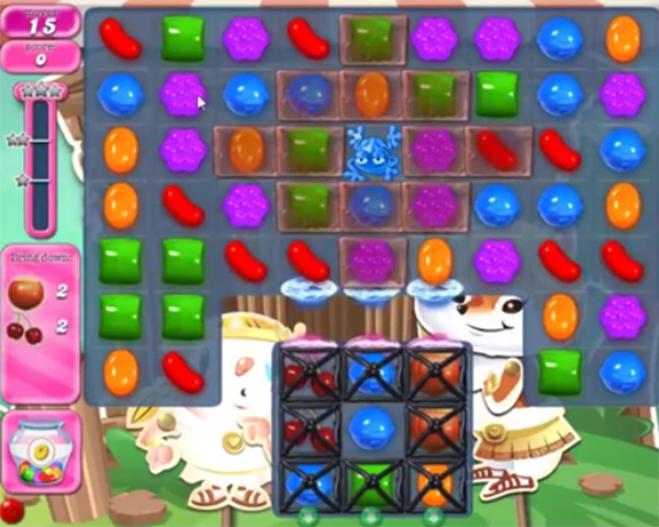 candy crush level 1418