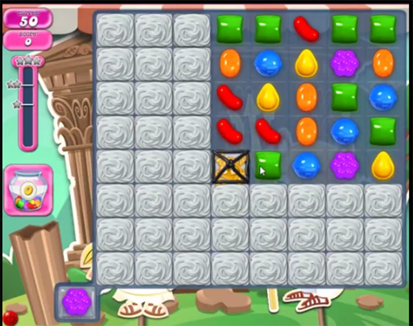 candy crush level 1421