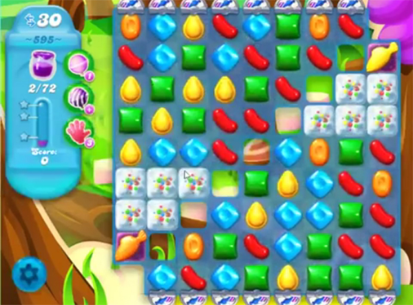 candy crush soda level 595