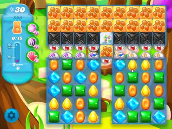 candy crush soda level 596