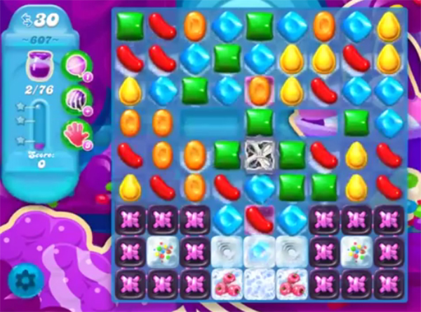 candy crush soda level 607