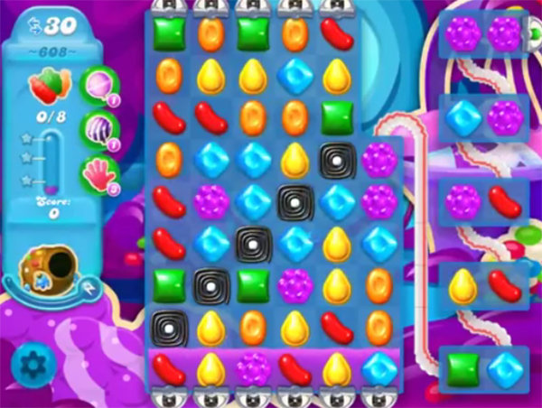 candy crush soda level 608