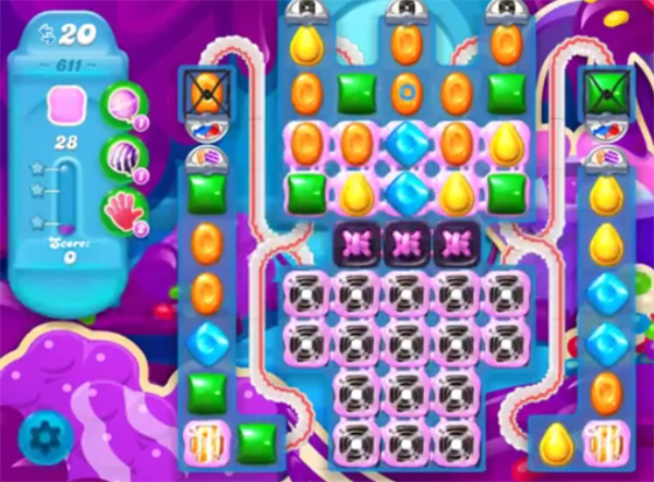 candy crush soda level 611