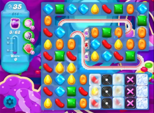 candy crush soda level 614