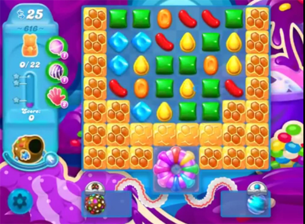 candy crush soda level 616