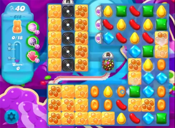 candy crush soda level 618