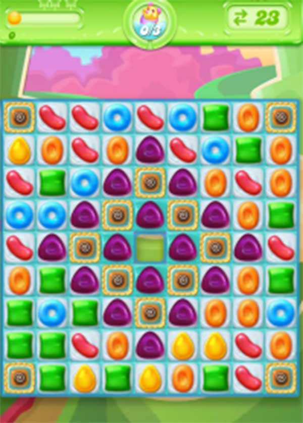 candy crush jelly level 100