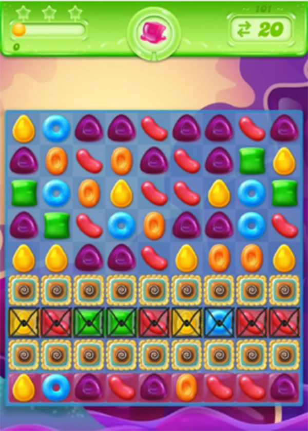 candy crush jelly level 101