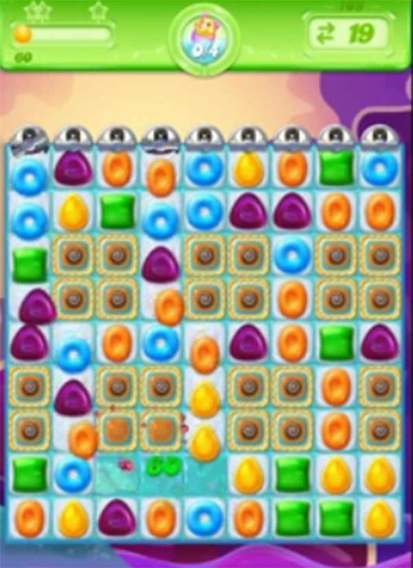 candy crush jelly level 109