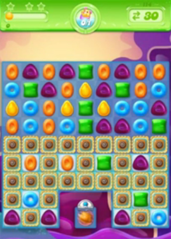 candy crush jelly level 114