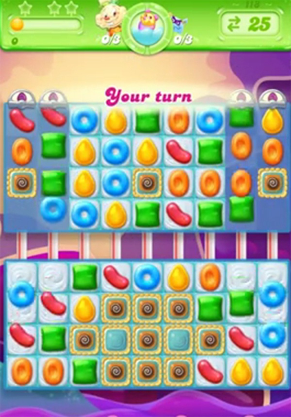 candy crush jelly level 118