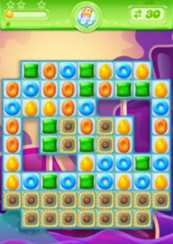 candy crush jelly level 119