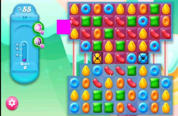 candy crush jelly level 14