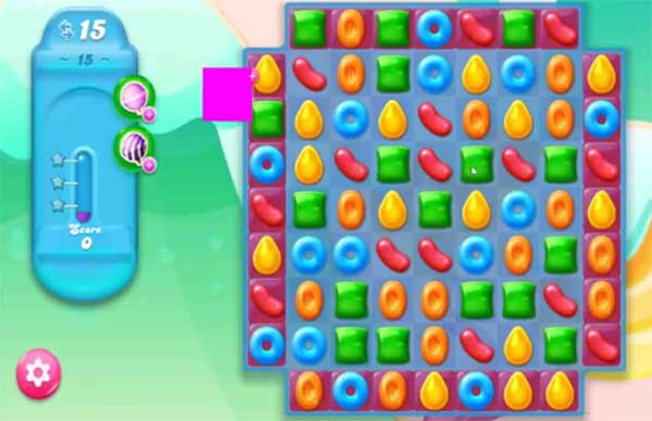 candy crush jelly level 15