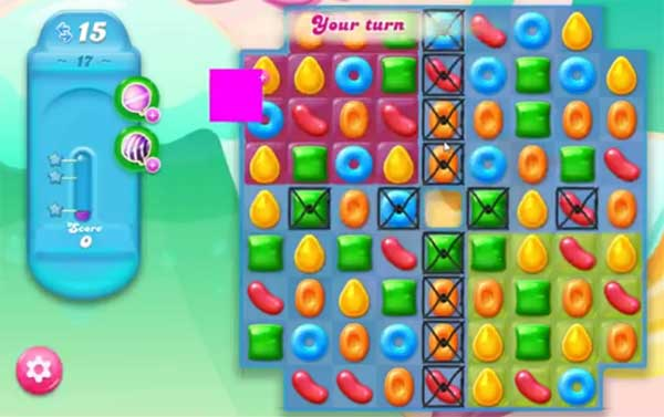 candy crush jelly level 17