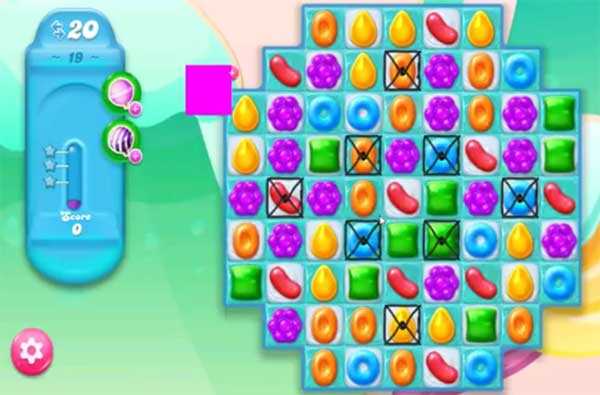 candy crush jelly level 19