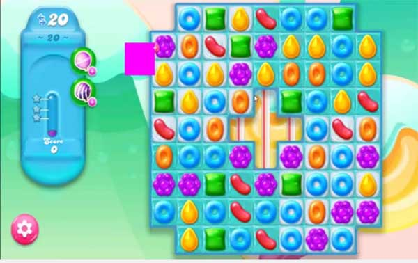 candy crush jelly level 21
