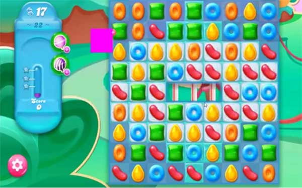 candy crush jelly level 22