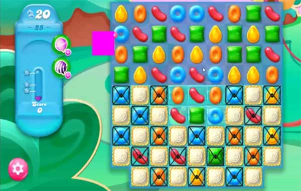candy crush jelly level 25