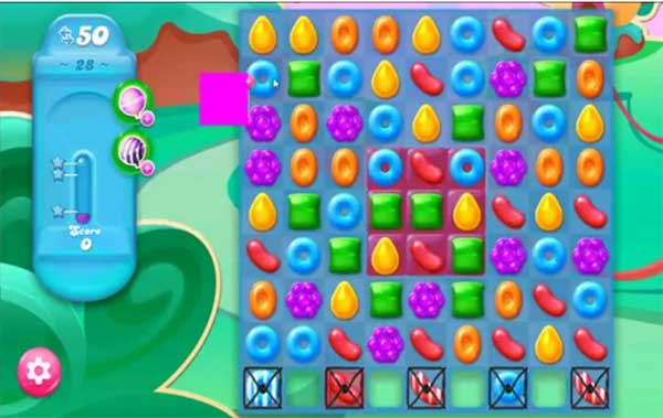 candy crush jelly level 28