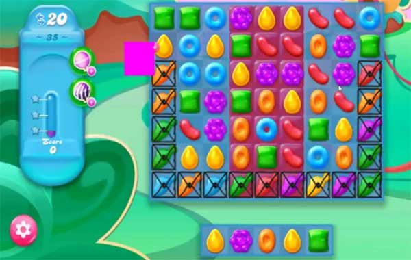 candy crush jelly level 35