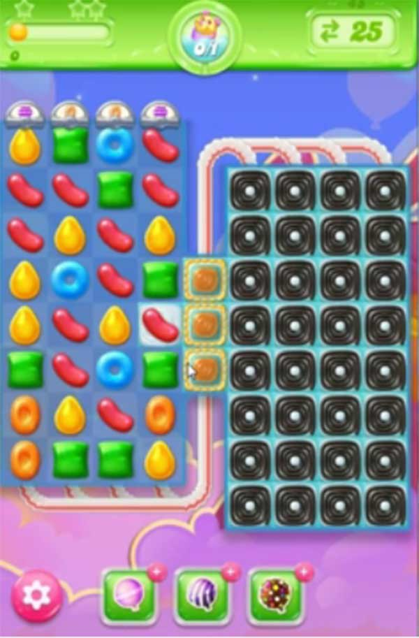 candy crush jelly level 45