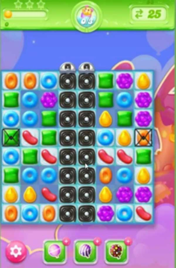 candy crush jelly level 55
