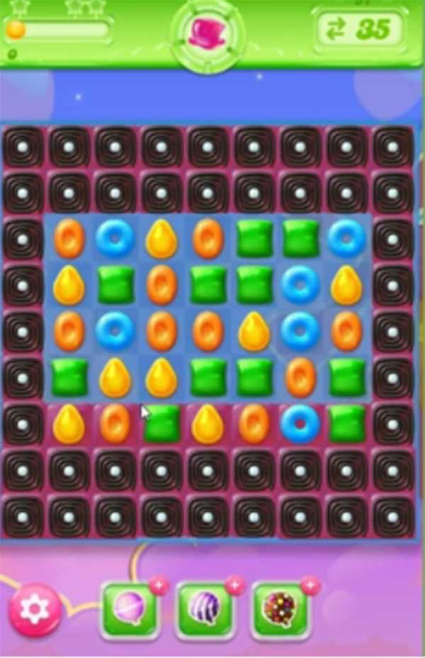 candy crush jelly level 57