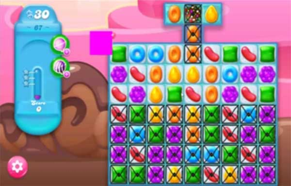 candy crush jelly level 67