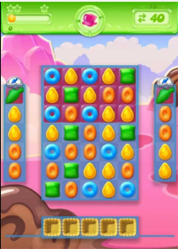 candy crush jelly level 73