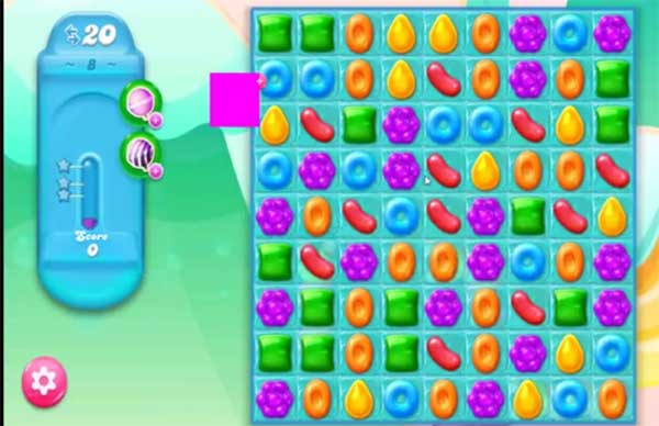 candy crush jelly level 8