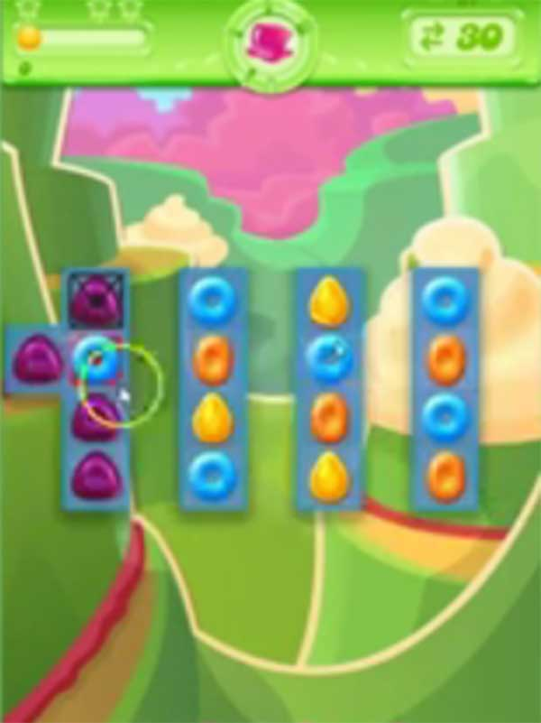 candy crush jelly level 81