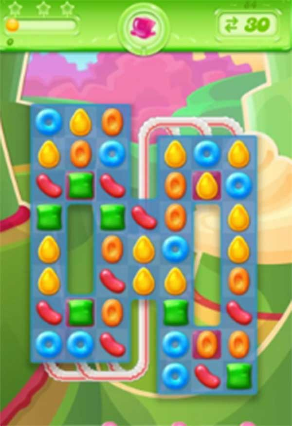candy crush jelly level 84