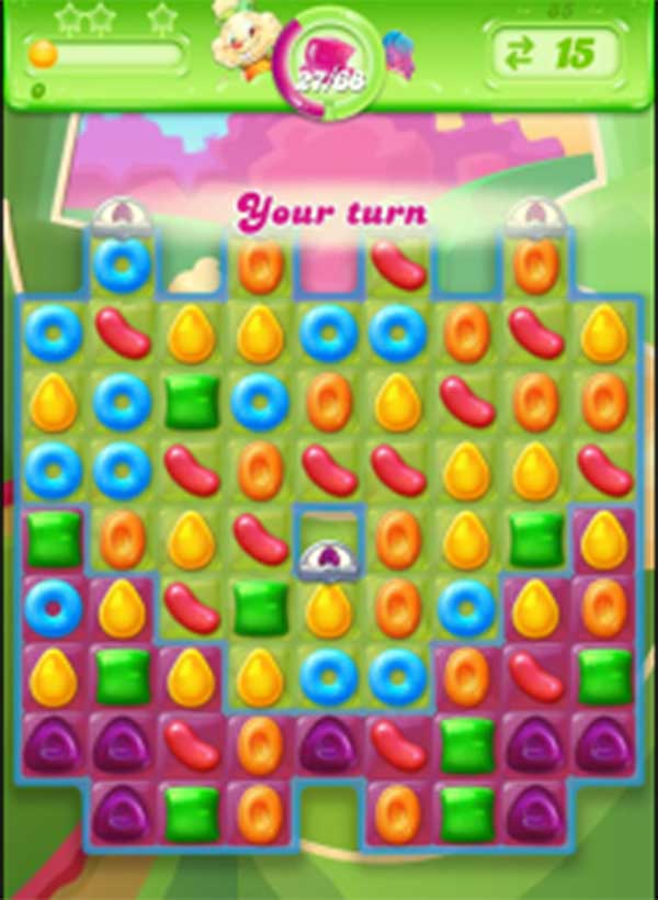 candy crush jelly level 85