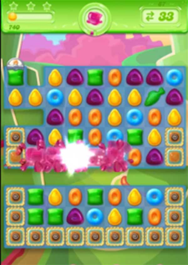 candy crush jelly level 87
