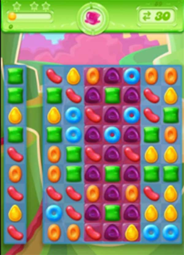 candy crush jelly level 89