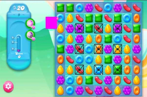candy crush jelly level 9