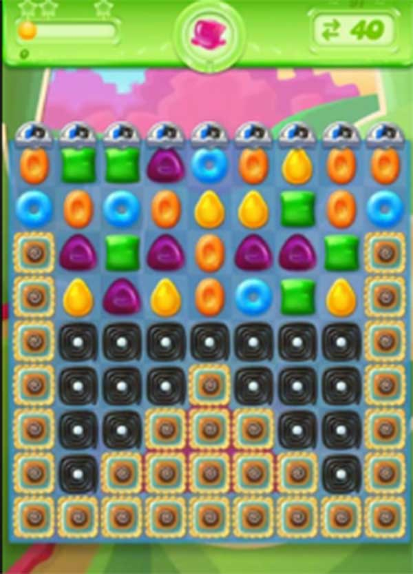 candy crush jelly level 91