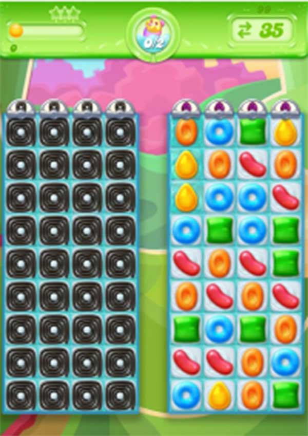 candy crush jelly level 99