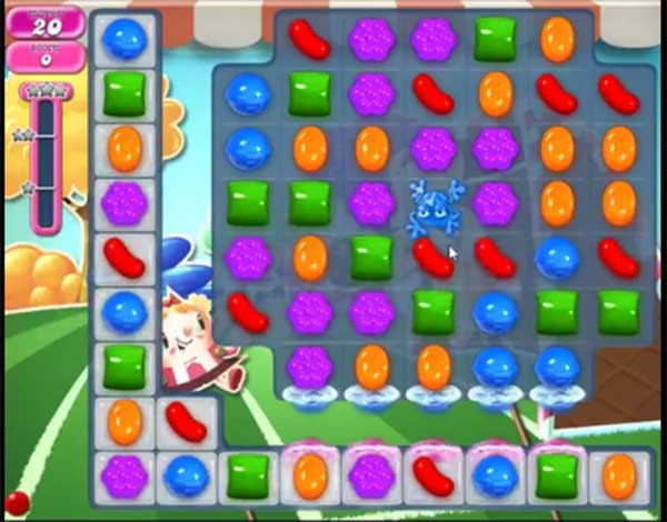 candy crush level 1445