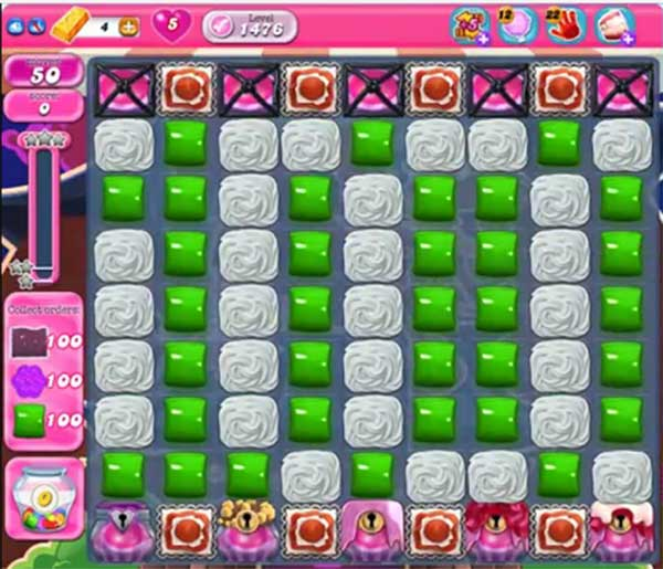 candy crush level 1476
