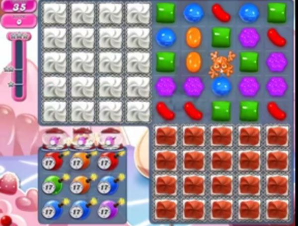 candy crush level 1495