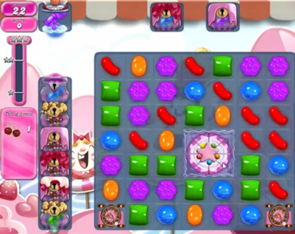 candy crush level 1496