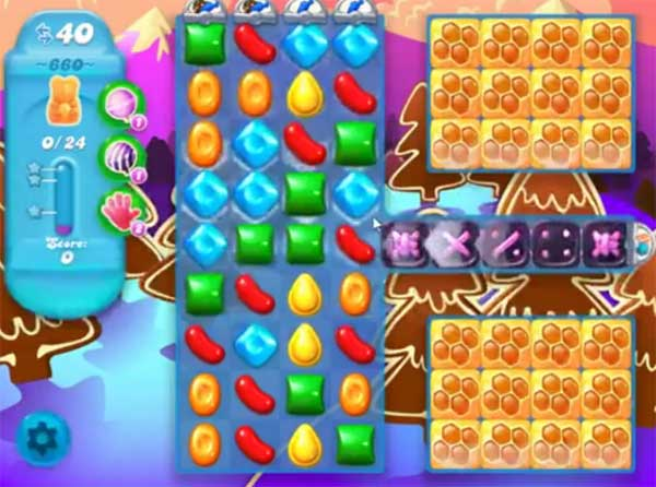 candy crush soda level 660