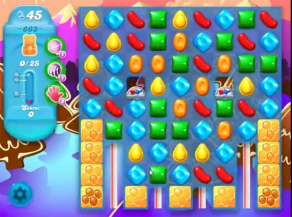 candy crush soda level 663