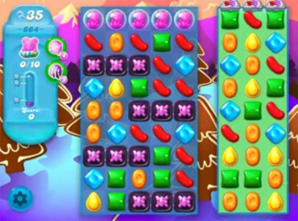 candy crush soda level 664